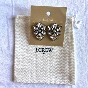 JCrew Diamond Studs Crystal Earrings